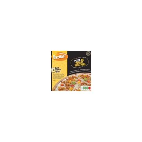 Pizza poulet péri