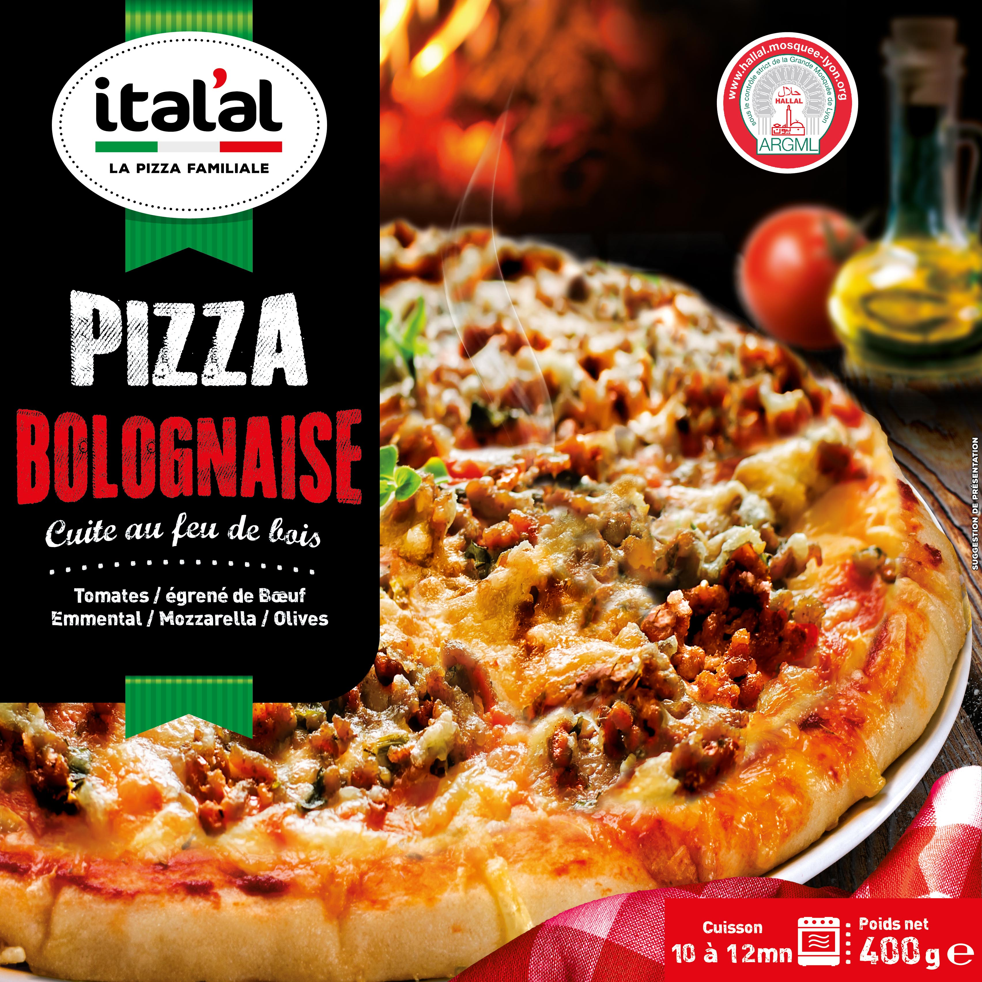 Pizza bolognaise Ital'al