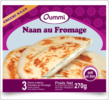 cheese naan fromage Oummi