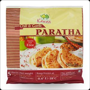 paratha ail piment kawan