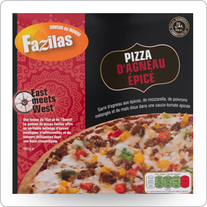 pizza agneau épicé fazilas