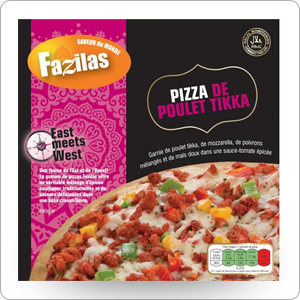 Pizza poulet tika Fazilas