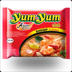 Soupe nouilles crevettes yum yum