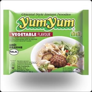 Soupe nouilles légumes yum yum